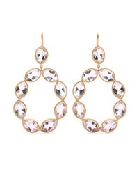 Jamie Wolf | Metallic 18kt Yellow Gold Linked Marquis Amethyst Earrings | Lyst