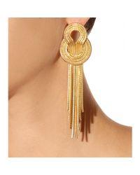 Lara Bohinc - Yellow Saturn Earrings - Lyst