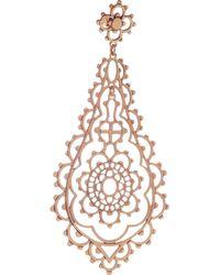 Laurent Gandini - Metallic Serenissima 9karat Rose Gold Earrings - Lyst