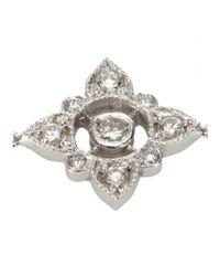 Stone   Metallic Fleur Sacrée 18kt White Gold Bracelet   Lyst