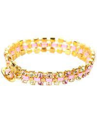 Vivienne Westwood - Pink Disco Bracelet - Lyst