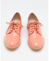 Jeffrey Campbell - Pink Patent Lace-Up  - Lyst