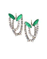 Nak Armstrong - Green Malachite and Mint Quartz Earrings - Lyst