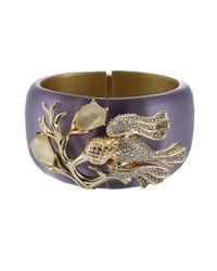 Alexis Bittar - Blue Large Ophelia Hummingbird Bracelet - Lyst