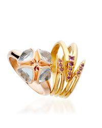 Katie Rowland | Metallic Ishtar Venon Wrap Ring | Lyst
