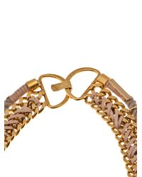 Lizzie Fortunato - Metallic La Belle Necklace - Lyst