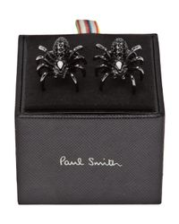 Paul Smith | Black Spider Cufflinks for Men | Lyst