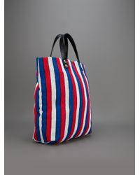Steve Mono - Blue Striped Tote Bag - Lyst