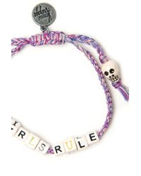 Venessa Arizaga | Purple Girls Rule Bracelet | Lyst
