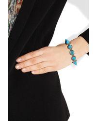 Eddie Borgo - Blue Turquoise Cone Bracelet - Lyst