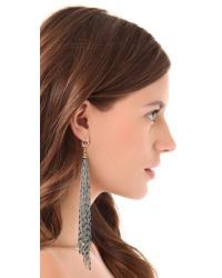 Vanessa Mooney - Metallic Dreams Of Distant Places Earrings - Lyst