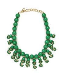 BaubleBar - Green Ariel Necklace - Lyst