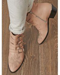 Chloé | Pink Susanna Boots | Lyst