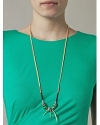 Lizzie Fortunato | Multicolor Turquoise Bead Braided Necklace | Lyst