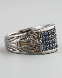 Stephen Webster | Metallic Sapphire Inlay Ring for Men | Lyst