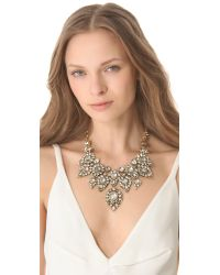 Erickson Beamon | Metallic Hello Sweetie Necklace | Lyst