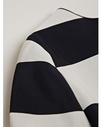 Lanvin - Black Striped Top - Lyst