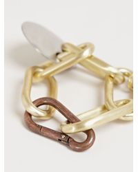 Rick Owens - Metallic Mens Carved Link Bracelet for Men - Lyst