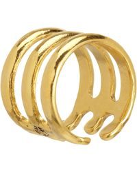 Aurelie Bidermann - Metallic Esteban Ring - Lyst