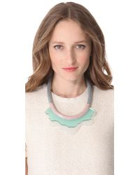 Orly Genger By Jaclyn Mayer - Gray Alina Necklace - Lyst