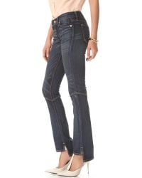 Textile Elizabeth and James | Blue Taylor Seamed Boot Cut Jeans | Lyst