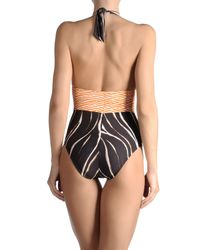 Annaclub by La Perla - Brown Onepiece Suit - Lyst