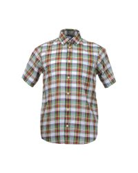 Carhartt - Red Fort Plaid Short Sleeve Shirt for Men - Lyst