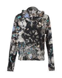 Christopher Kane - Black Car Crash-print Sweatshirt for Men - Lyst