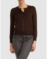 Marc Jacobs | Brown Cardigan | Lyst