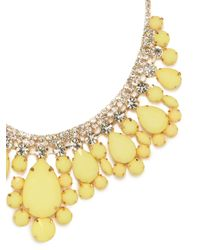 BaubleBar - Yellow Machu Picchu Collar - Lyst