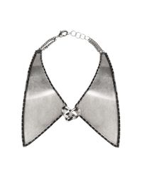 DANNIJO - Metallic Necklace - Lyst
