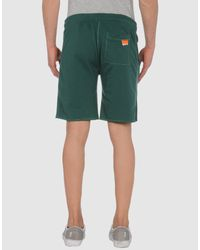 Superdry - Green Sweat Shorts for Men - Lyst