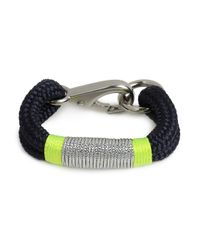 BaubleBar - Blue The Ropes Maine Navy Kennebunkport Bracelet - Lyst