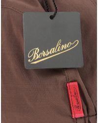 Borsalino - Brown Hat for Men - Lyst
