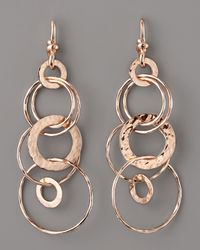 Ippolita | Pink Rose Multi-link Jet-set Earrings | Lyst