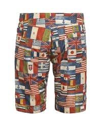 Moncler - Multicolor Flag Swim Shorts for Men - Lyst