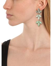 BaubleBar - Green Mint Laurel Drops - Lyst