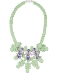 EK Thongprasert | Green Silicone and Cubic Zirconia Necklace | Lyst