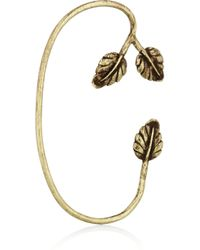 Pamela Love | Metallic Maia Bronze Leaf Ear Cuff | Lyst
