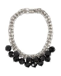 Marni | Black Necklace | Lyst
