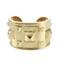 David Webb - Metallic Bastille Cuff Bracelet - Lyst