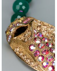 Katerina Psoma - Multicolor Snake Necklace - Lyst