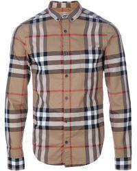Burberry Brit   Natural Niall Shirt for Men   Lyst
