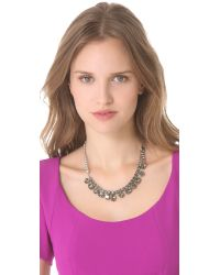 Tom Binns - Metallic Regal Rocker Fonce Asymmetrical Necklace - Lyst
