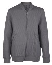 Comune - Gray Andrew Bomber Jacket for Men - Lyst