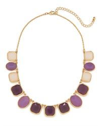 BaubleBar - Natural Purple Gemstone Strand - Lyst