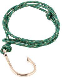 Miansai | Green Hook Bracelet for Men | Lyst