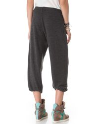 Wildfox | Basic Sweatpants - Jet Black | Lyst