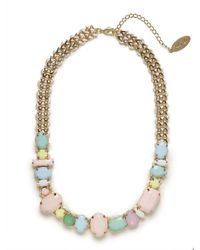 BaubleBar | Metallic Adia Kibur Pastel Gem Rock Necklace | Lyst