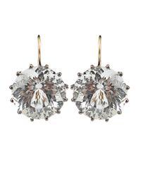 Andrea Fohrman - White Rock Crystal Earrings - Lyst